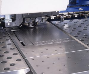 Sheet Metal Punching Red Box Engineering