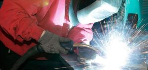 welding at Red Box Engineering