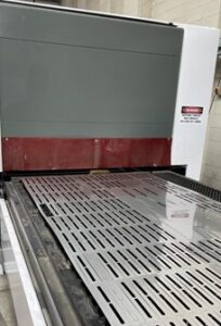 The new laser cutting machine is now fully operational at Red Box Engineering.